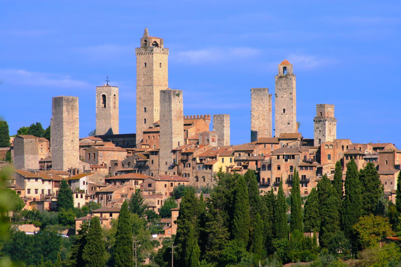 Da Monteriggioni A San Gimignano