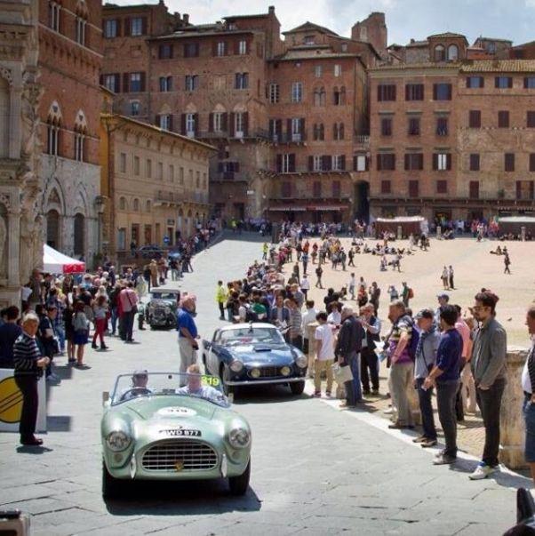 siena mille miglia vintage cars