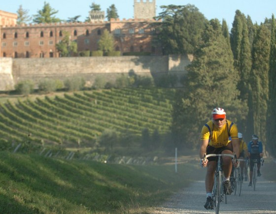 Eroica cycling event in Senese Chianti