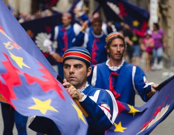 Discover Siena contrades: the Noble Contrada of Nicchio