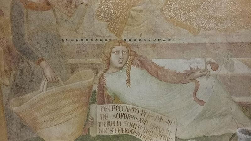 Ambrogio Lorenzetti Affreschi restaurati