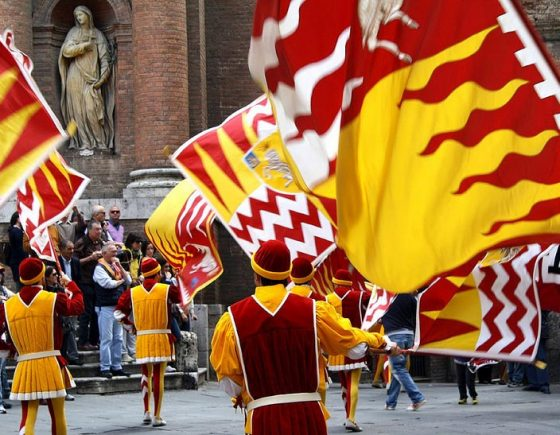 Stories from the Palio: the origins of Contrada of Valdimontone