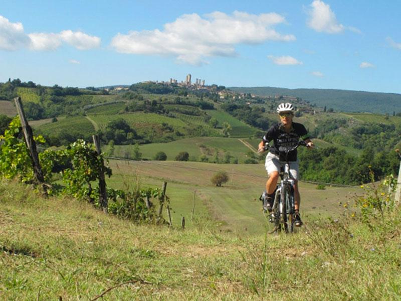 Itinerari in bicicletta a Siena