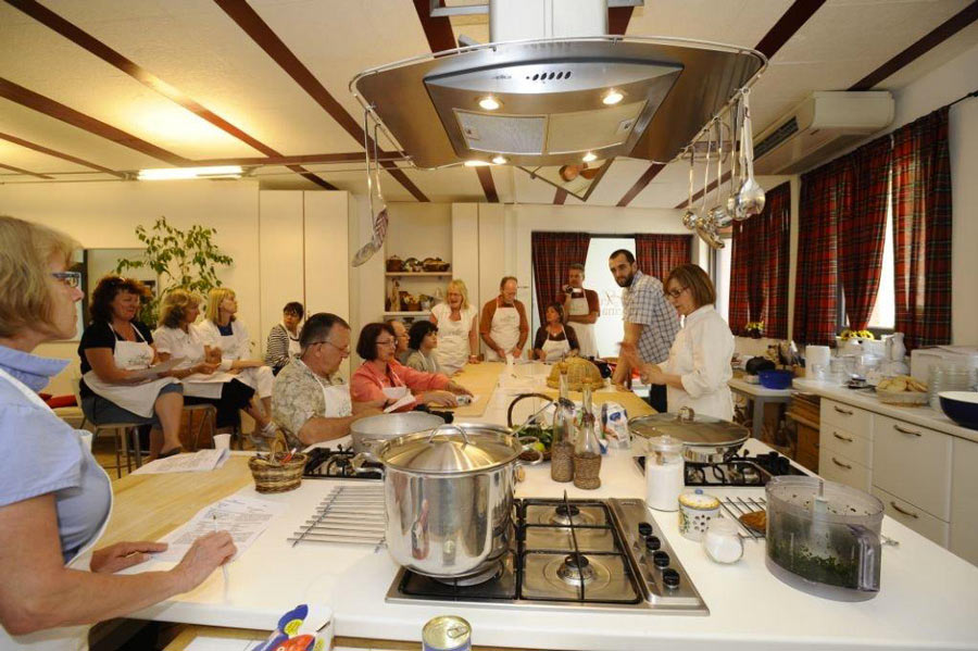 Cooking class a Siena