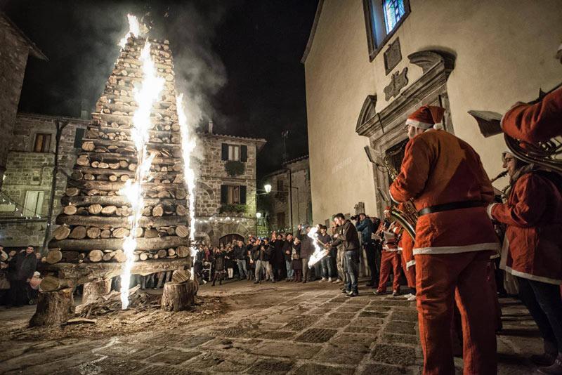 Christmas in Abbadia San Salvatore