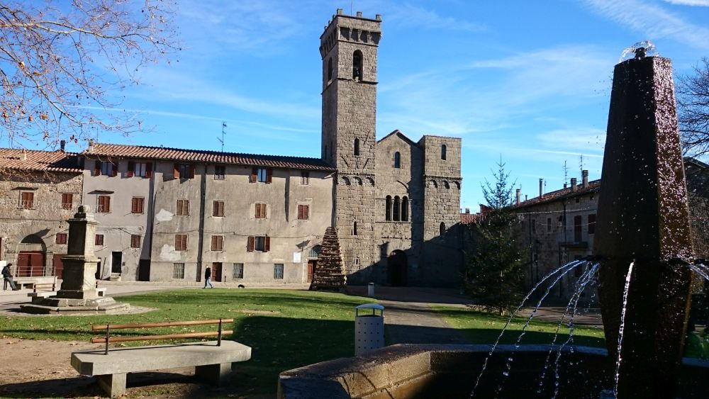 Visit to Abbadia San Salvatore, the town of torchlights